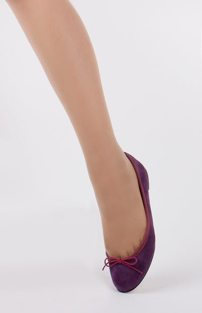 *SUNNY HONEY - red suede, 1cm, size UK 3