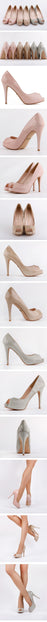 KILLER OPENTOE HEELS - 2013 colours
