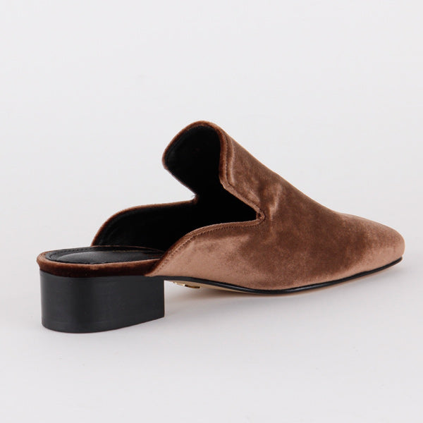 MARRON - slipper