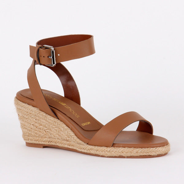 775b7d97ab5 *CONSTANCE - brown, 6cm, size UK 2 - UK 2 / EU 34 / USA 4 / (220mm length)  / Brown / 6cm Espadrilles wedge