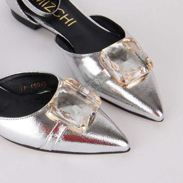*JEM, silver, size UK 1