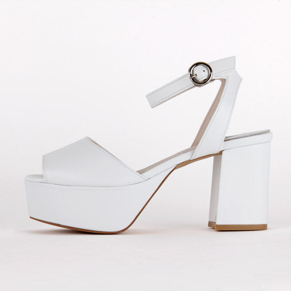 *LOFTY - white, 8/4cm, size UK 2.5