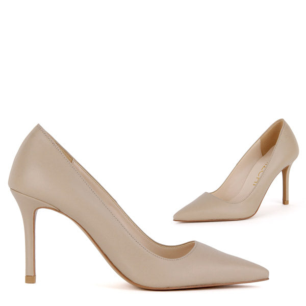 *HEMERY - beige leather