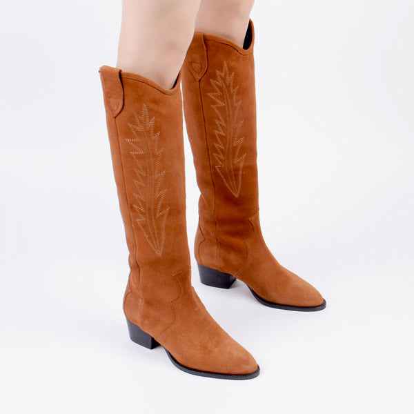RIATA - cowboy brown