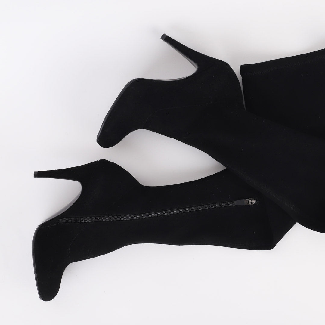 EVALINA - stretch over knee boots