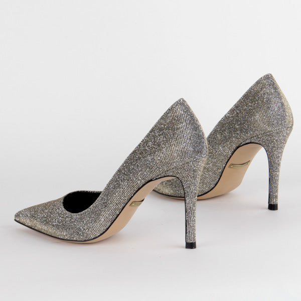 SUGAR GOLD - high heel