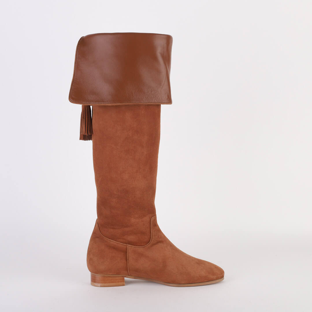 *PEGGY -brown, 2cm size UK 2.5