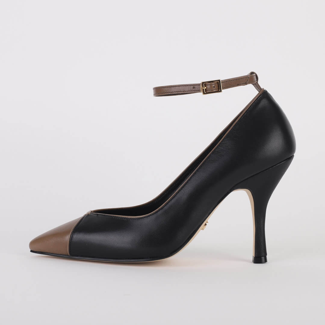 *Paris - black, 9cm size UK 2.5