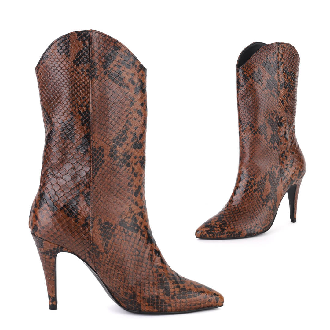 ZUSSA BROWN - anaconda boot