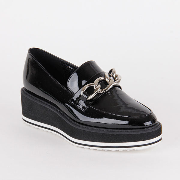 *LINK- black, 4.5cm size UK 2.5