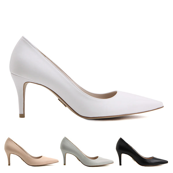 1e0be9e7d0f Petite Size Classic High Heel Court Lamb Leather Duomo by Pretty ...