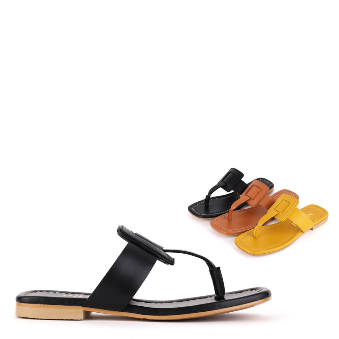 *JOWA - yellow, 1cm, size UK 2.5