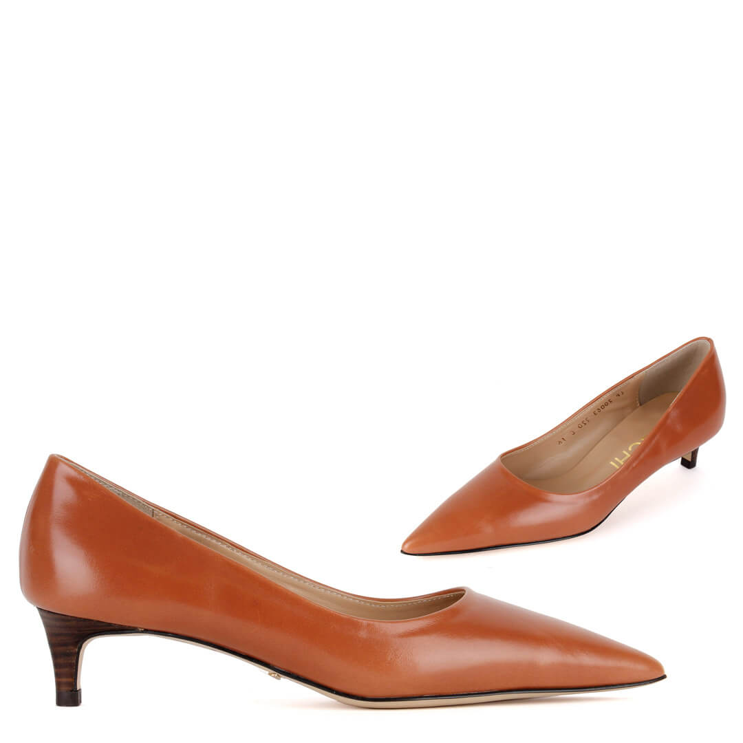 *AURA - brown, 4cm, size UK 2