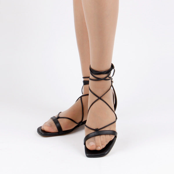 *SEA LINE- sandals, black, size 34.5
