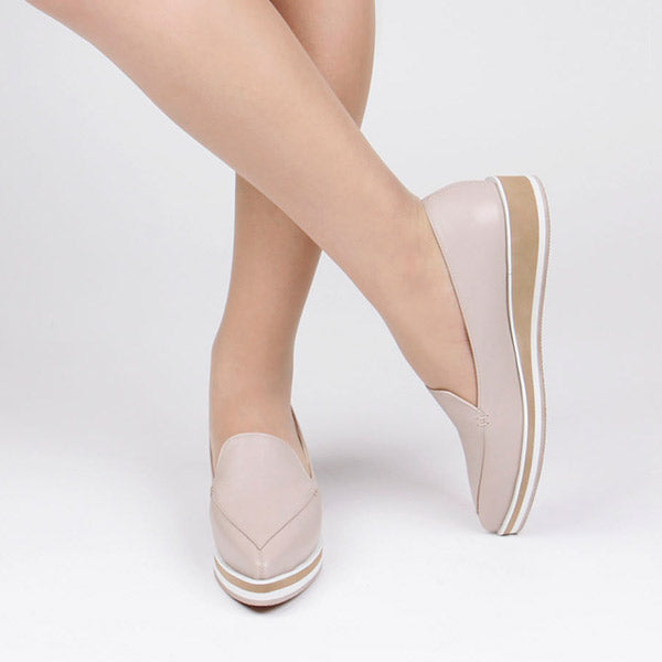 *HYGHLY - beige, 3cm size UK 2