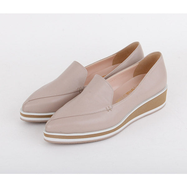 *HYGHLY - beige, 3cm, size UK 13