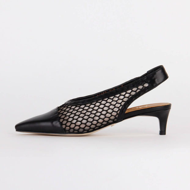 *NURIA - black, 4cm, size UK 1
