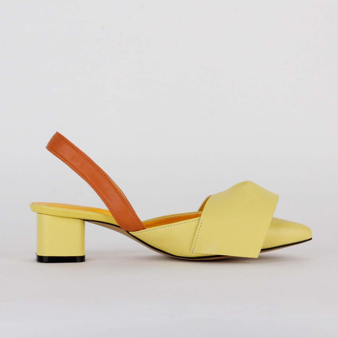 *MANDOO - yellow, 4cm size UK 3