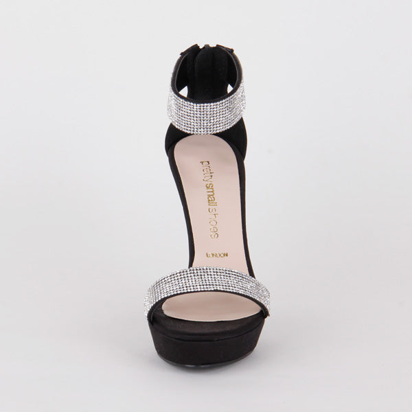 2ad9746ba Petite Size Designer Style Sandals High Heels And jewels Stardust by ...