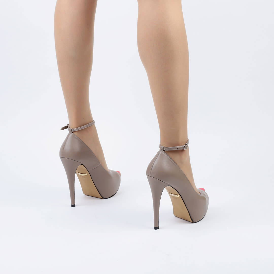 Killer Ankle Strap Heel