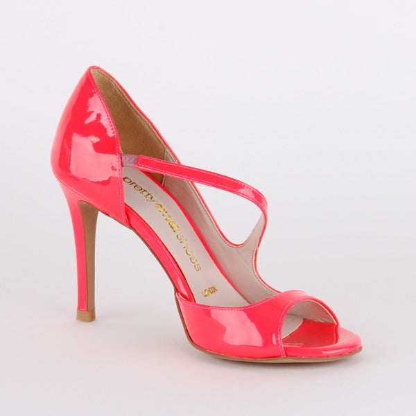 *SONATE - neon pink , 8cm, size UK 2