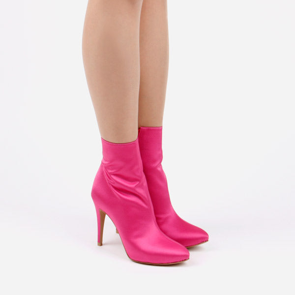 *FANCY OSCAR - ankle boot, 9cm, Pink, size 34.5