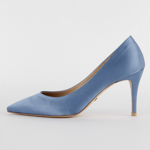 *LUCY , sky blue, 8cm, size UK 1