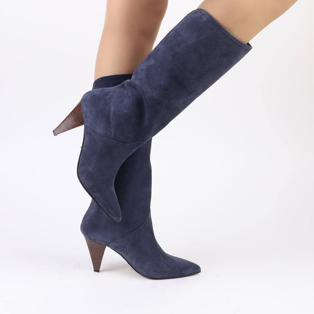 *GINNIE - blue, 8cm size UK 2.5