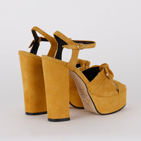 MAZIA - yellow suede