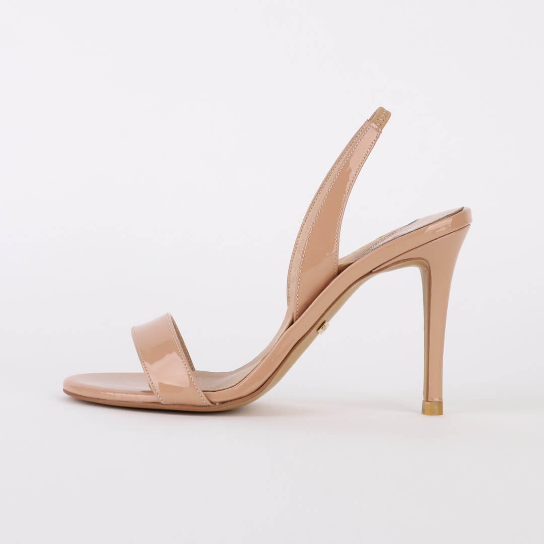 *MADRID - beige, 9cm, size UK 2.5
