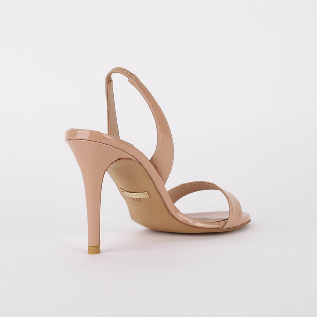 *MADRID - beige, 9cm, size UK 3