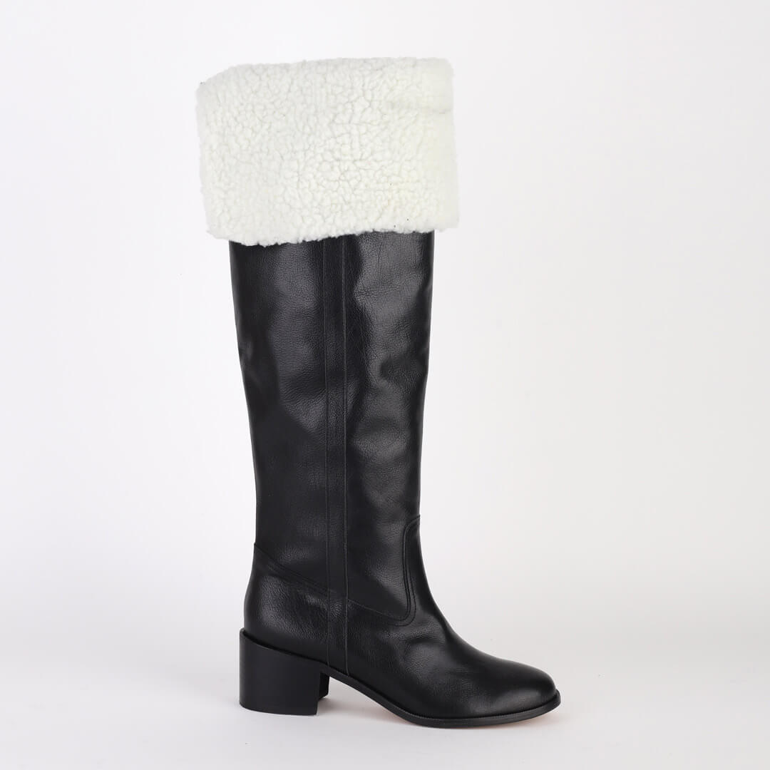 ZEETA black - knee boot