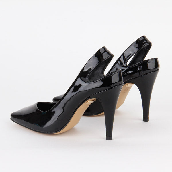*DITA - high heel, black, 9cm, size UK 2