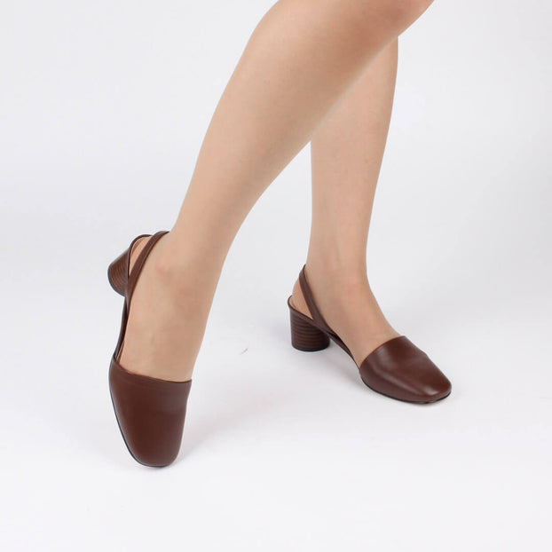 *MOMA - brown, 5cm, size UK 2.5