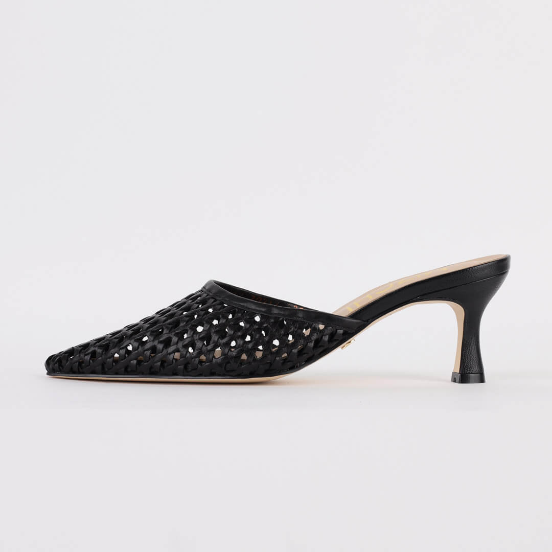 *MAIRE - black, 6cm, size UK 2.5
