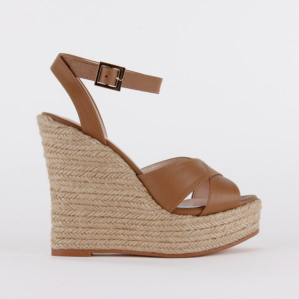 *SUMMER PARTY - camel, 12cm, size UK 2.5