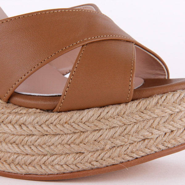 *SUMMER PARTY - camel, 12cm, size UK 2