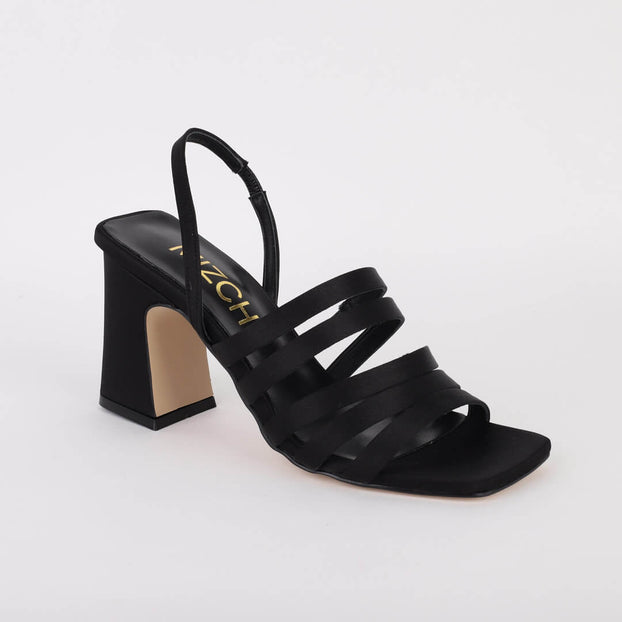 *SHARON - black, 8cm, size UK 2.5
