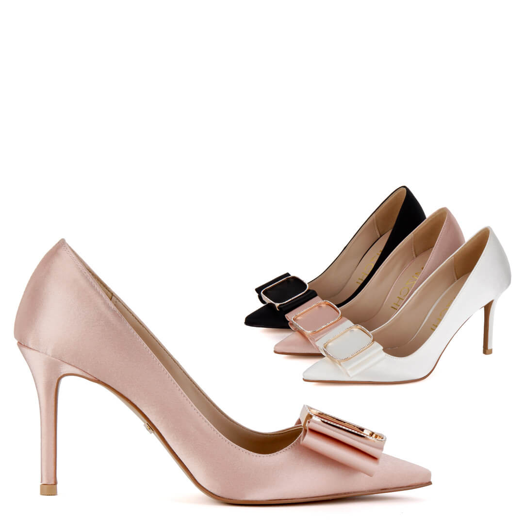 *THERESA - pink, 8cm, size UK 2 (extra 10% off as some light marks)