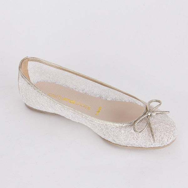 *OLIVIA - ivory lace, Size UK 2.5
