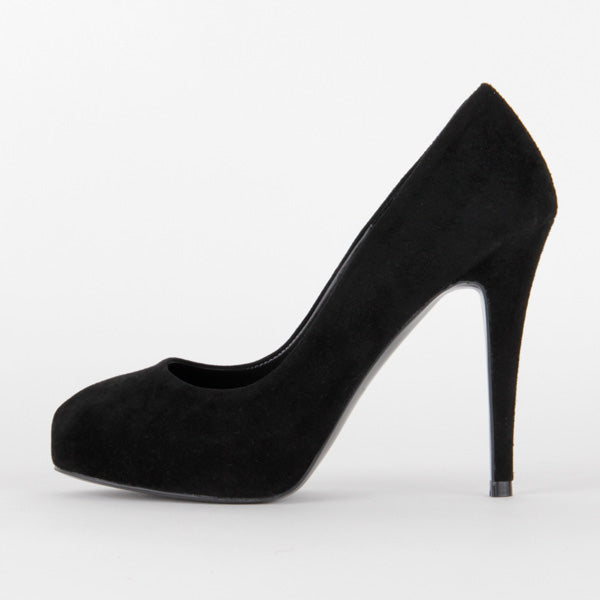 *SCANDALIZE - black suede