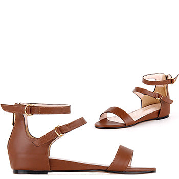 *PIPER - brown, 2cm size UK 2
