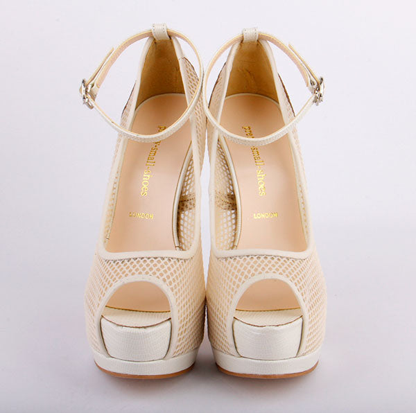 *TAKE IT HIGHER beige, 14/4cm, size 34.5