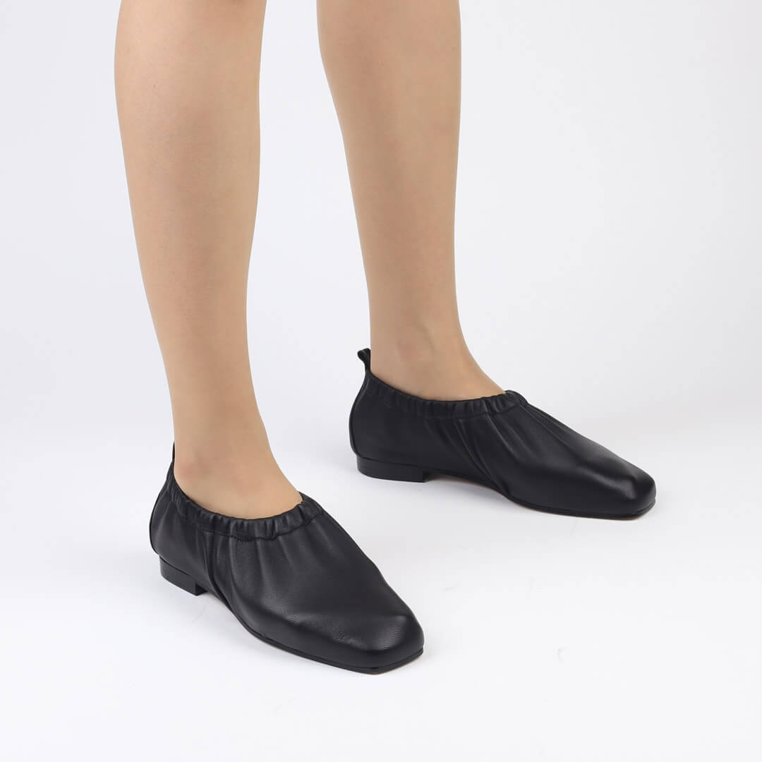 OTILLIA - soft leather flat