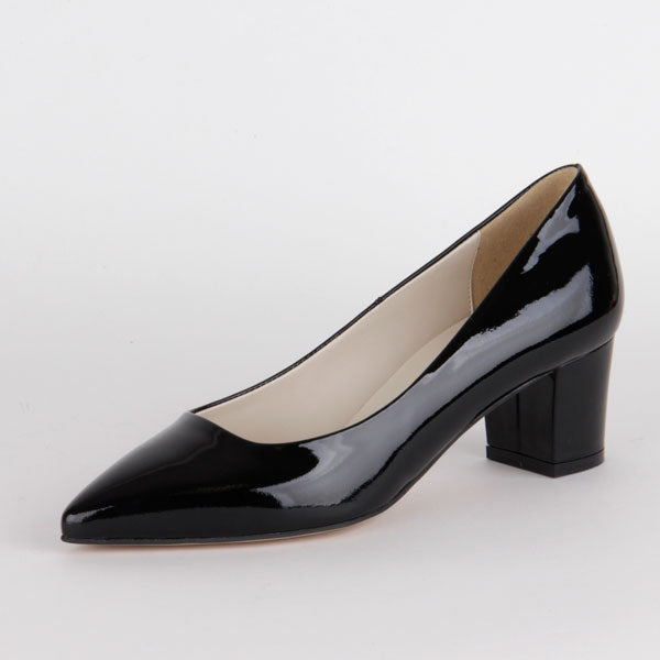 *COURTNEY - black patent