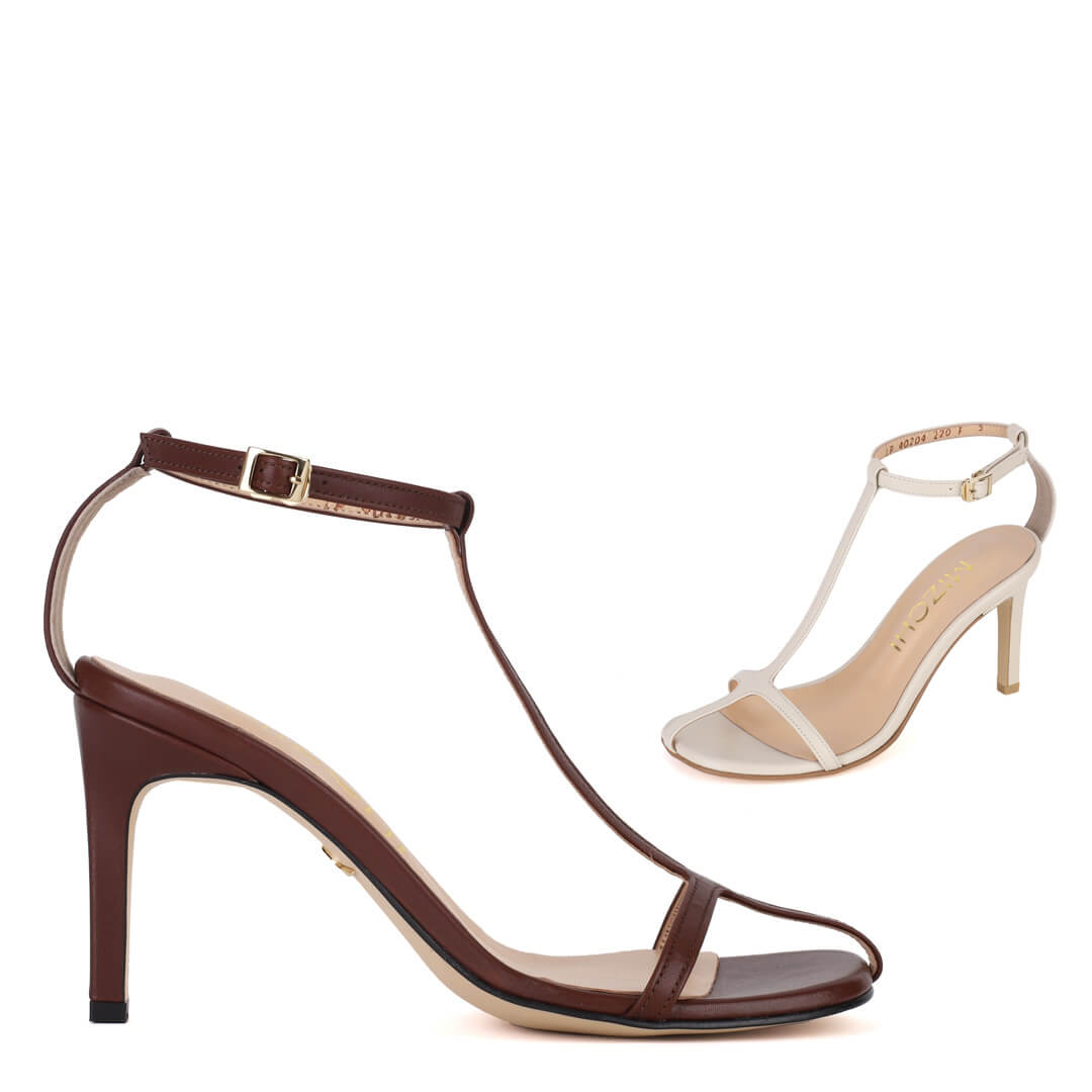 *ZAYLEE - brown, 8cm size UK 2