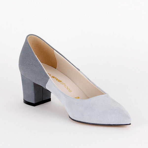*CATE - grey suede