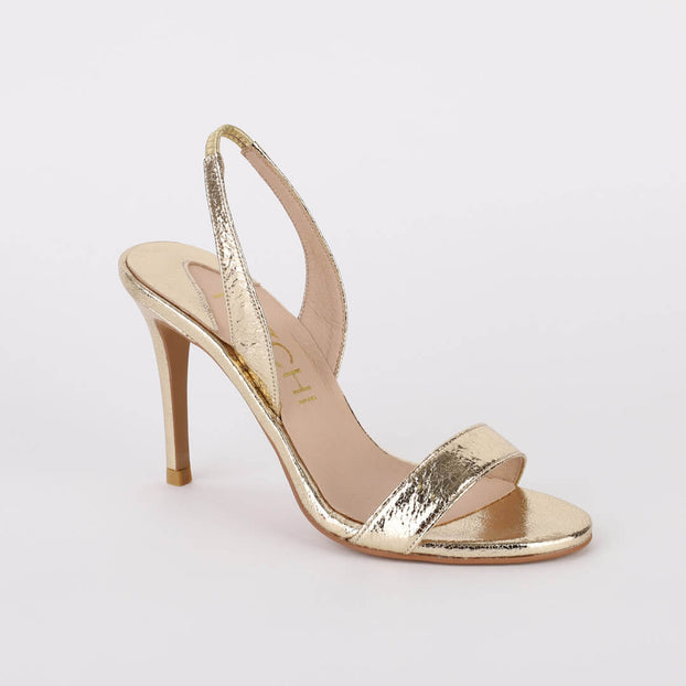 *MADRID METALLIC- gold, 10cm size UK 2