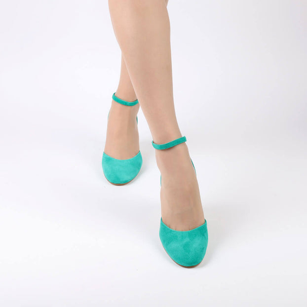 TIMBALADA - ankle strap pumps