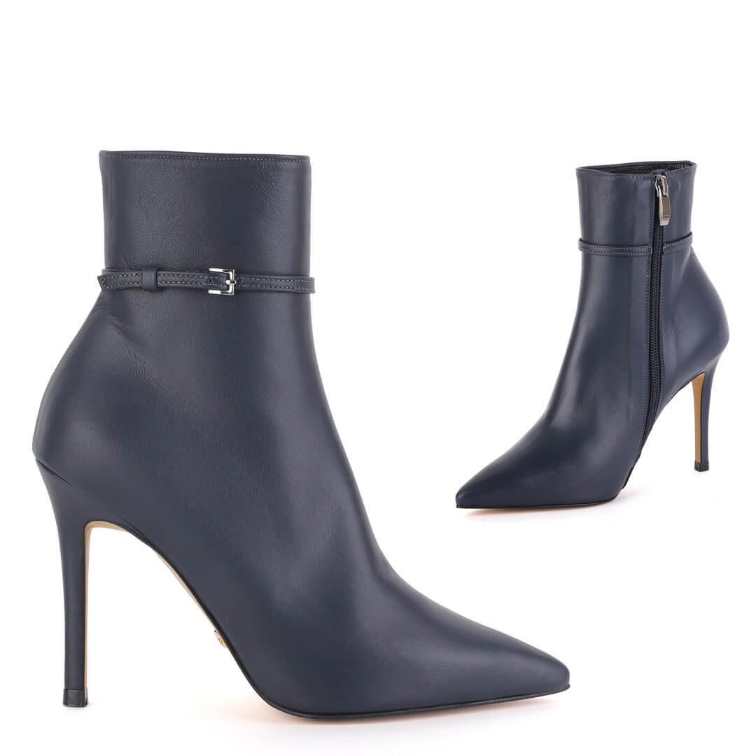SWIFT NAVY - ankle boots